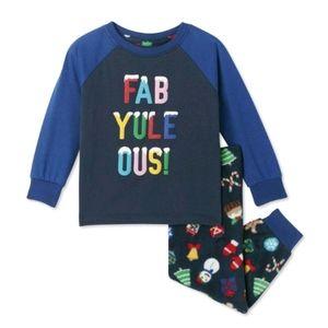 🤑New. Baby boy Winter 2pc Pajamas